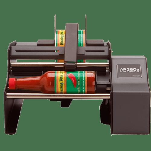 AP360e Aplicador de etiquetas semiautomatico