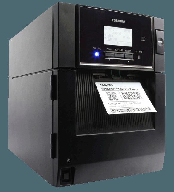 BA410 impresora industrial de etiquetas