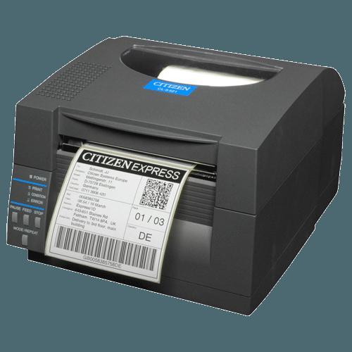 CL-S521 máquina de etiquetas compacta