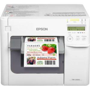 impresora etiquetas color epson