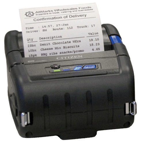 impresora térmica inalámbrica CMP-30II