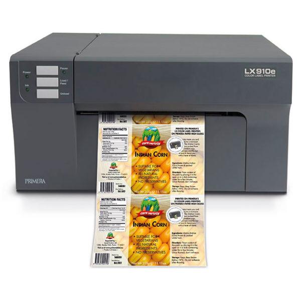impresoras etiquetas a color LX910e